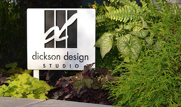 Dickson Design Studio Sign